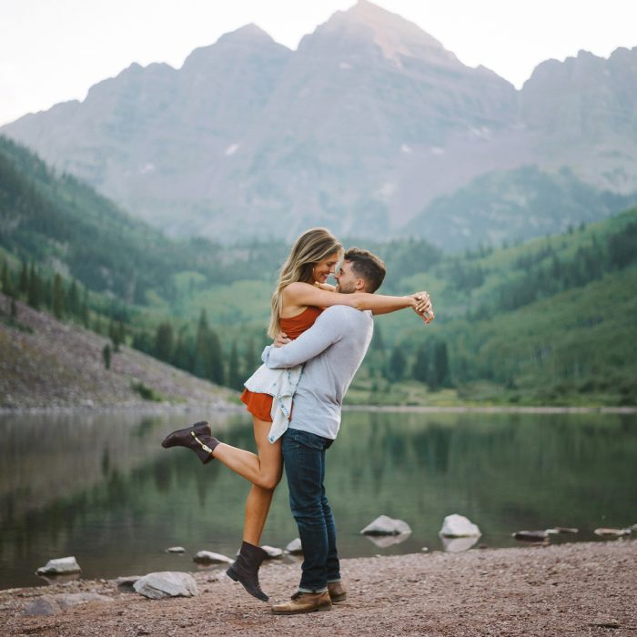 Maroon Bells | Destination Engagement Photographer | Aspen Colorado