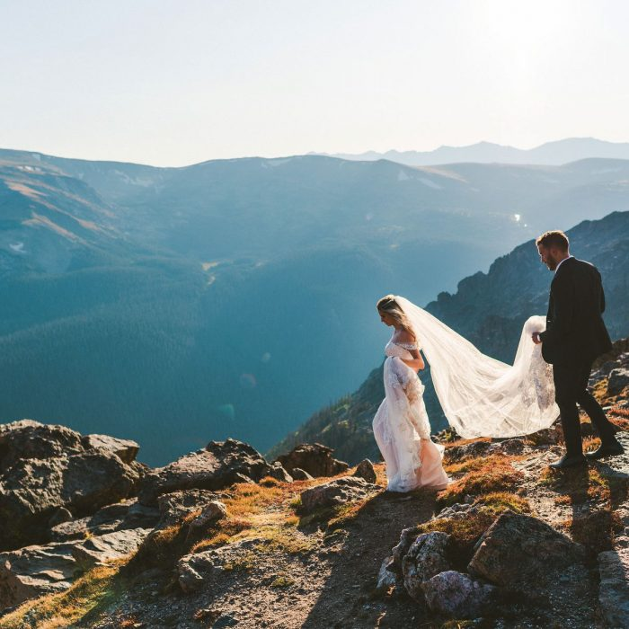 Rocky Mountain National Park Photos | Colorado Destination Intimate Wedding and Elopement Photographer | Estes Park | Jessica & Austin Bevere