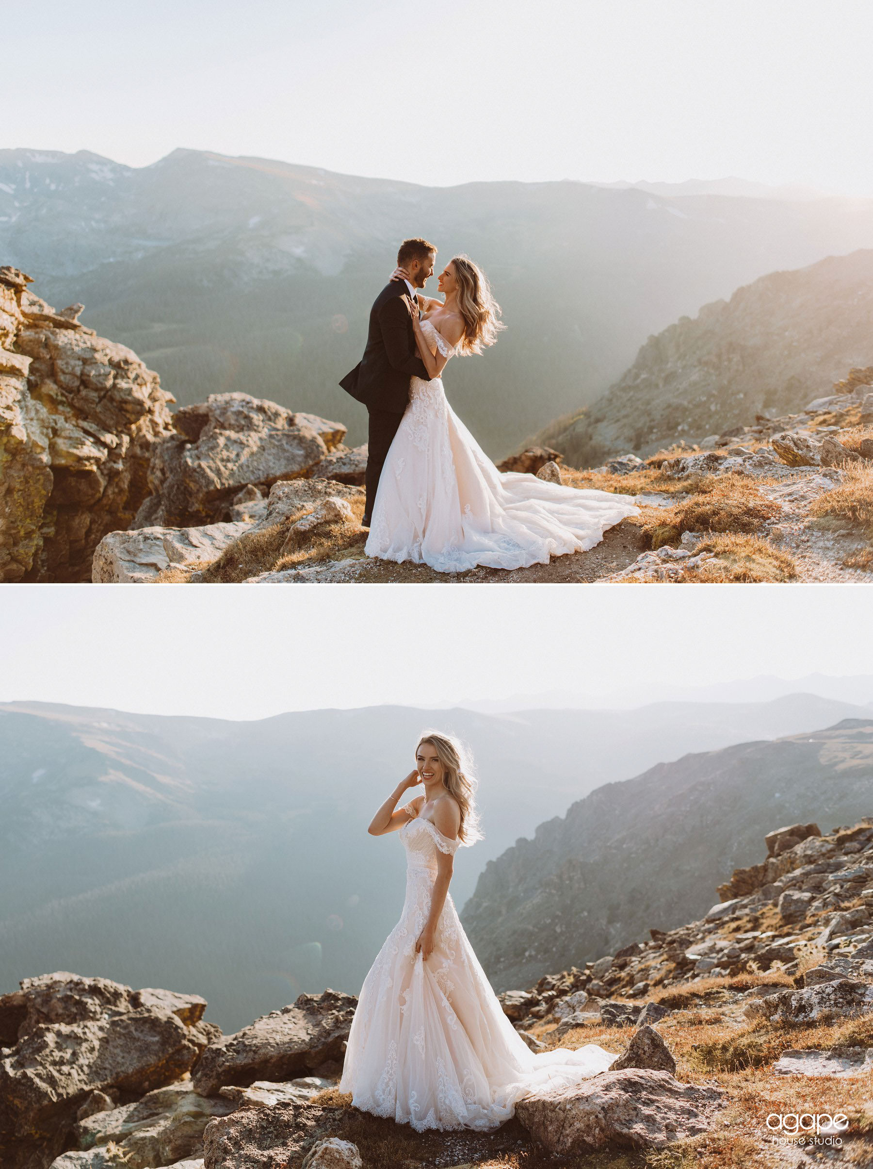 Rocky Mountain National Park Wedding Anniversary Photos