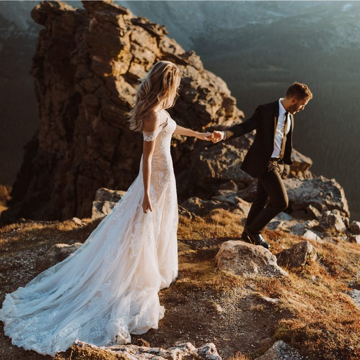 Rocky Mountain National Park Photos | Colorado Destination Intimate Wedding Engagement and Elopement Photographer | Estes Park | Jessica & Austin Bevere