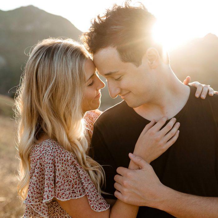 Malibu Creek State Park Engagement Session   Los Angeles Destination Wedding Photographer